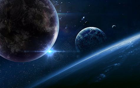 科幻宇宙星空图片