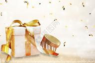 白色礼物盒图片