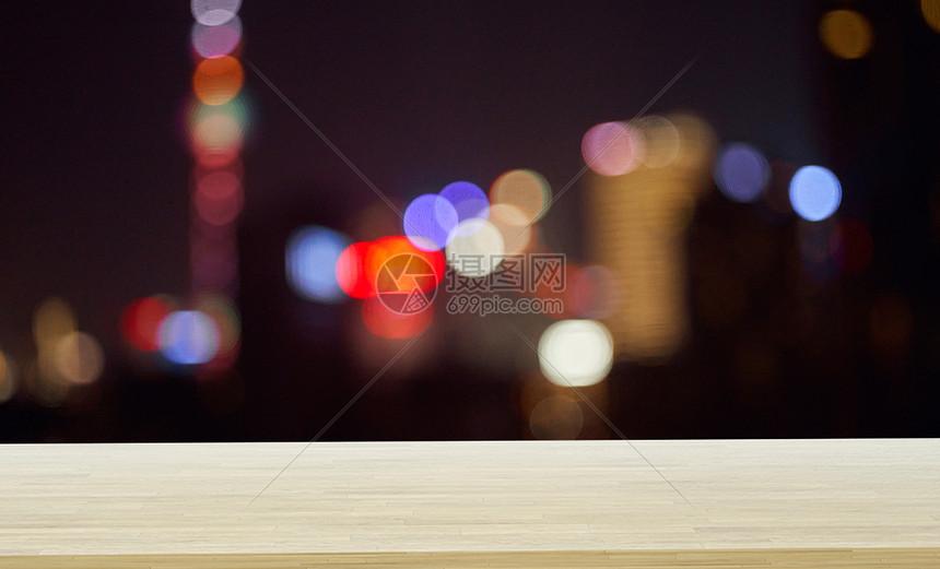 夜晚的城市图片