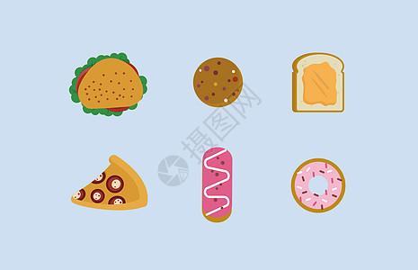 高热量的食物图片