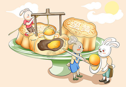 蛋黄月饼picture