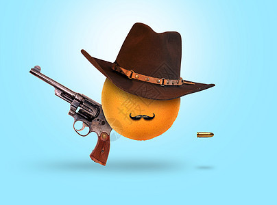 水果牛仔图片