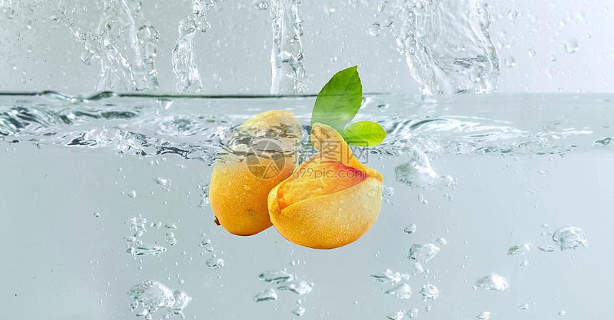 水下的芒果图片