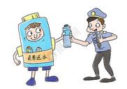 关爱交警图片