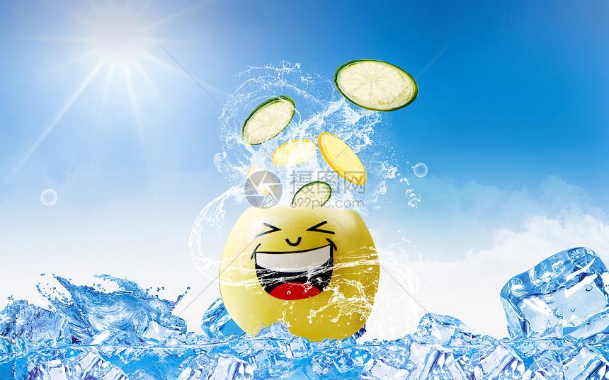 冰爽水果图片