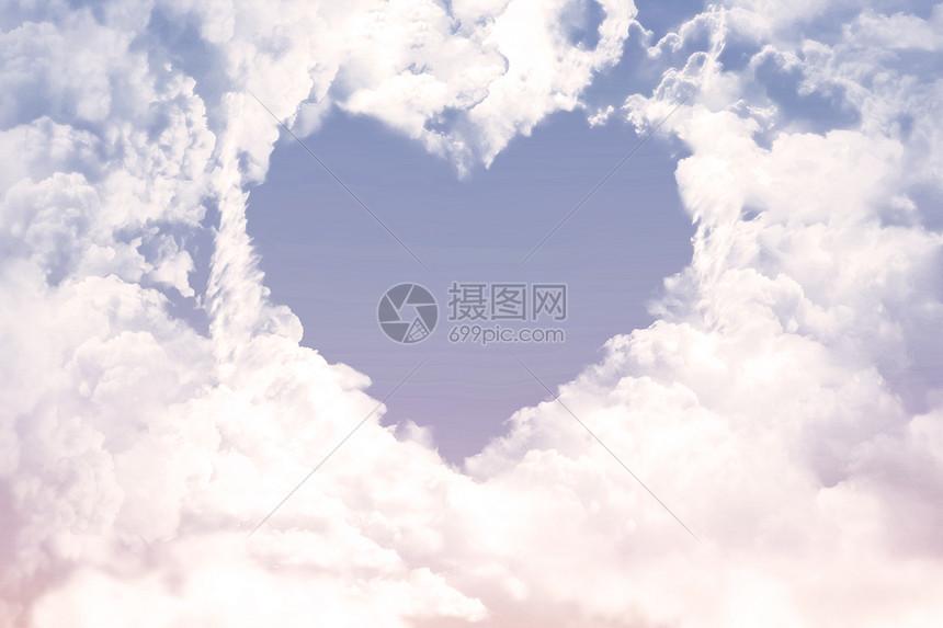 七夕云朵图片
