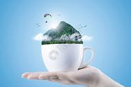 创意茶杯图片