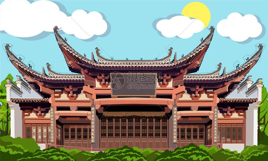 中式徽派建筑样式图片