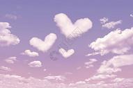 爱心创意云朵图片