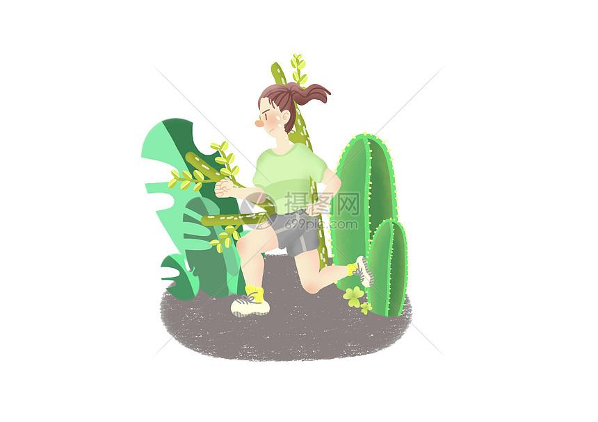 健身跑步图片