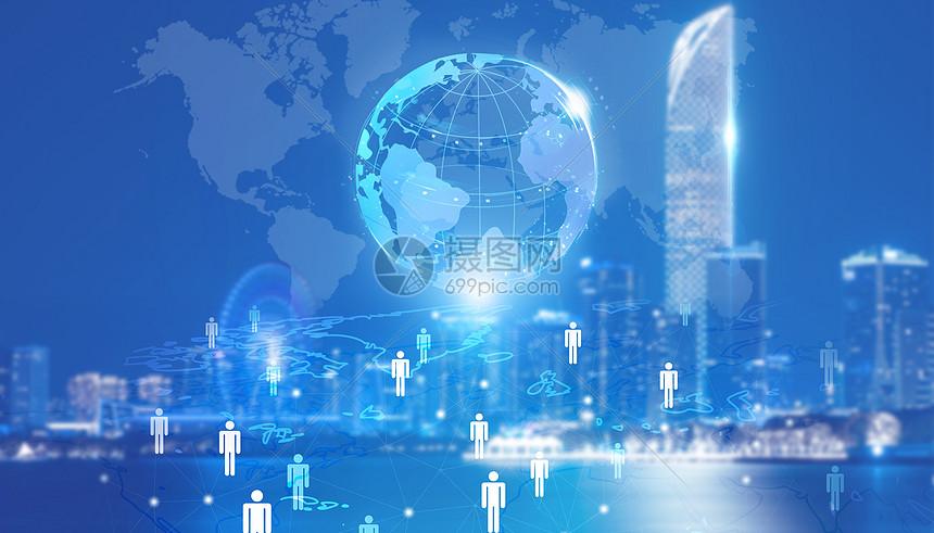 互联网世界图片