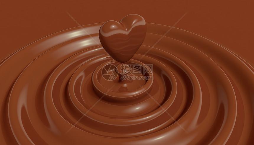 七夕心形巧克力图片