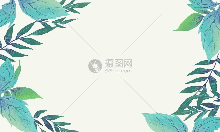 叶子背景图片