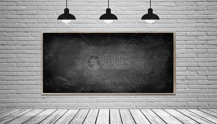 黑板墙图片
