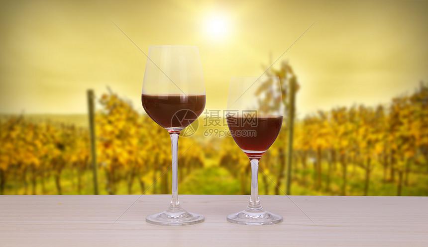 红酒主题海报图片