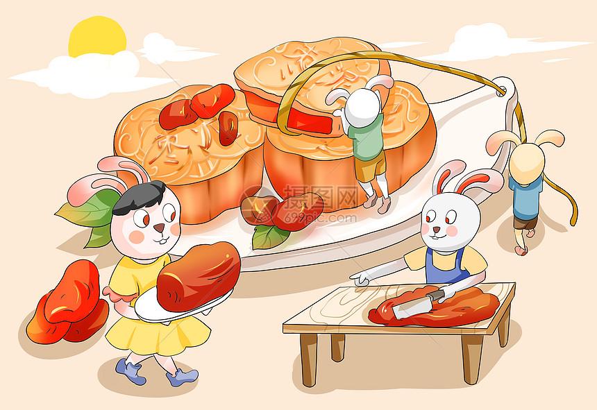 枣泥月饼图片