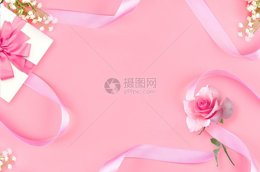 情人节玫瑰礼盒图片