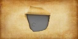 撕开的纸图片
