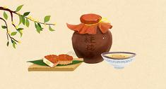 中秋桂花月饼图片