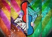 音乐背景素材图片