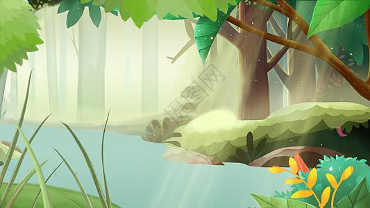 森林场景图片图片