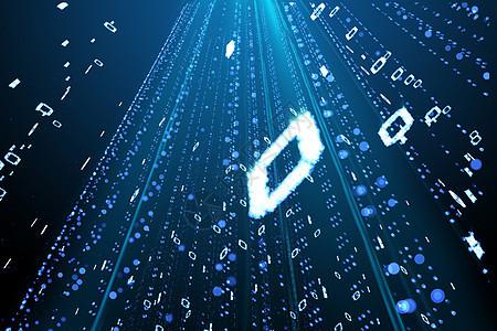 未来技术数字信息图片
