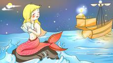 海的女儿图片