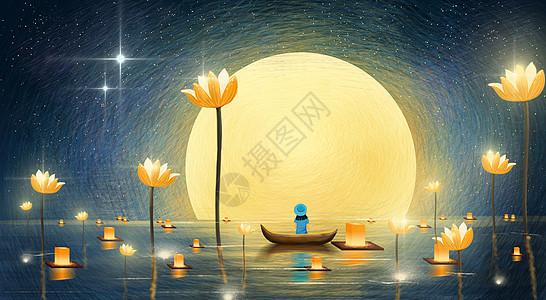 中秋节圆月picture