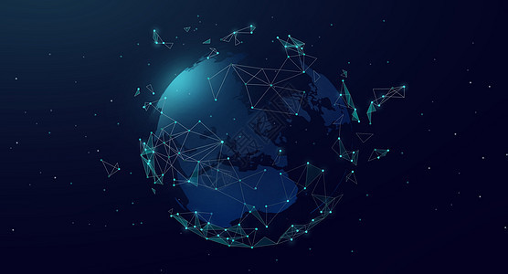全球信息科技背景图片