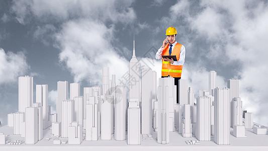 城市建设场景图片