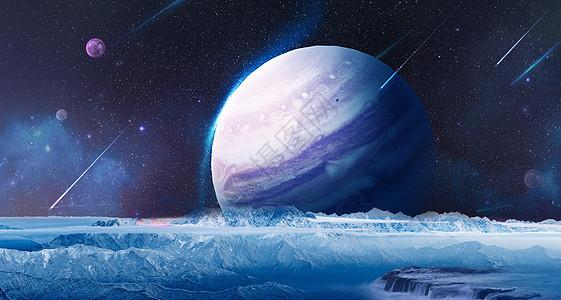 创意星空场景图片