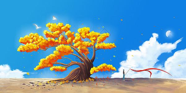 秋之牧歌图片