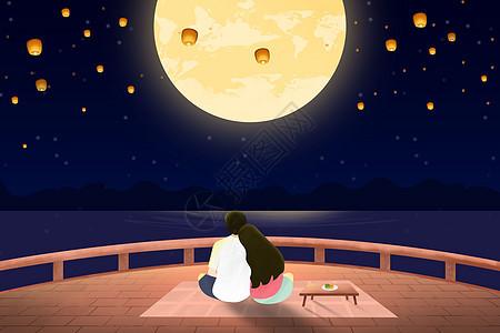 中秋赏月picture