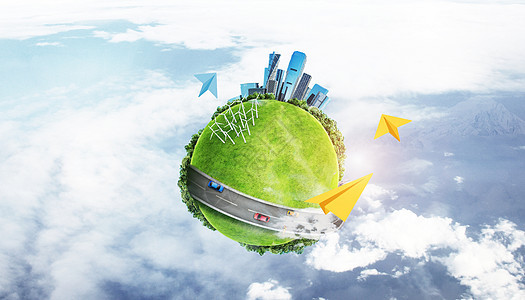 地球环境保护图片