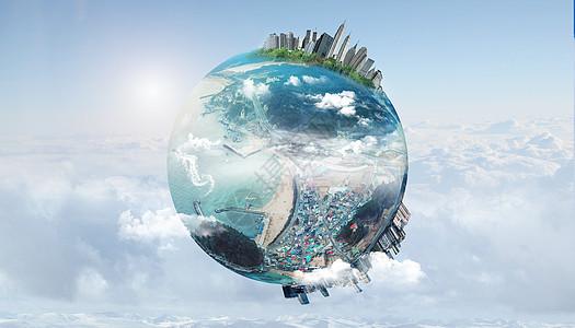 创意地球环境保护图片