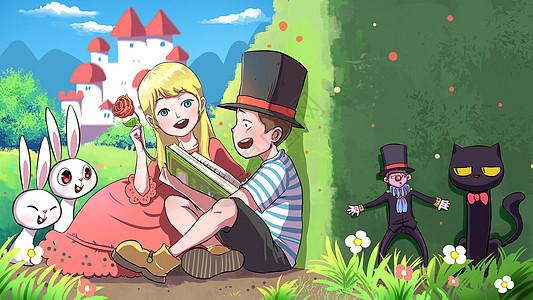 童话小镇图片