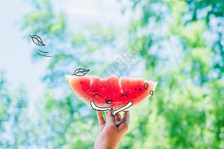 夏天西瓜图片