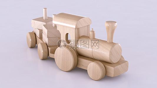 儿童积木玩具火车图片