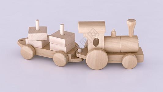 积木玩具火车图片