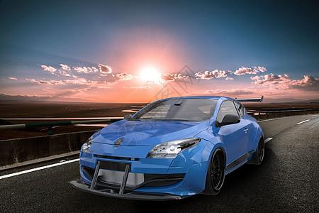 炫酷汽车场景图片