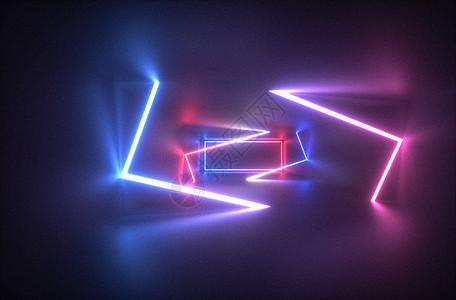 霓虹灯光图片