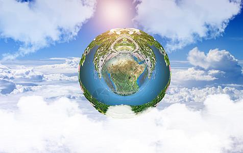 创意生态地球图片