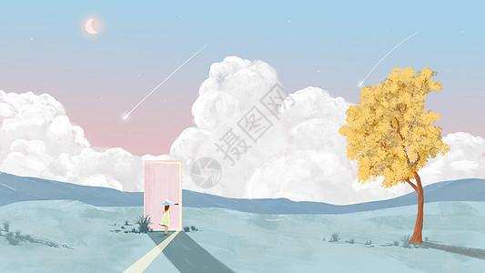 少女的粉色幻想图片