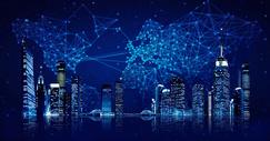 科技互联网城市图片