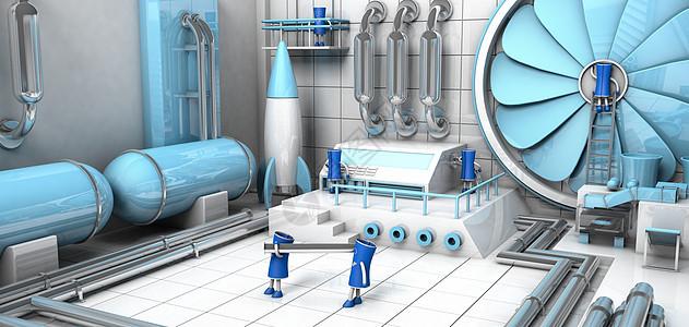 高科技工厂图片