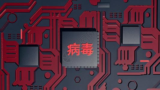 计算机病毒图片