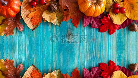 枫叶装饰背景图片