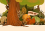 森林中的小松鼠图片