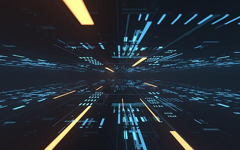 科技光线空间图片