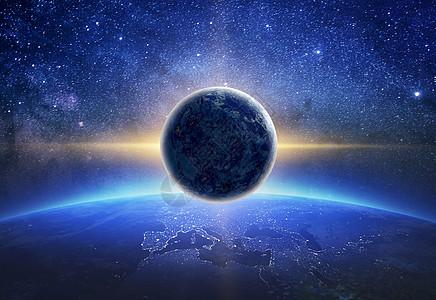 科幻宇宙星球图片